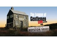 £80 THE PAIR - PLYMOUTH - 2 X LEAGUE OF GENTLEMAN TICKETS - SATURDAY 8TH SEPTEMBER 7:30PM - SOLD OUT