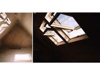 3 Section Aluminium Loft Ladder or Timber Loft Ladder & 50 Sq Ft Boarding or Luxury Storage Room