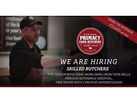 Butcher required for Primacy Meats Butchery Counter based in Co Tyrone