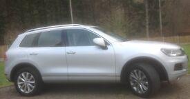 Volkswagen Touareg V6 SE TDI Silver 2014