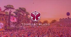 2 tickets to Tomorrowland!