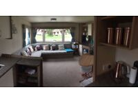 Haggerston Castle private Abi Deluxe caravan for hire. Situated in lovely area of the park.