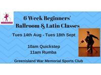 6 Wk Beginners Ballroom Quickstep & Rumba Dance Class - Greenisland - Tuesdays from 14th Aug 2018