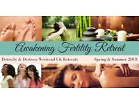 fertility yoga and meditation detox retreat