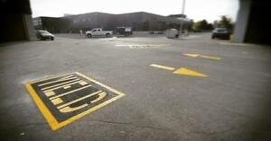 Parking Lot Line Painting - Hot Rubberized Crack Sealing - Pavement Markings - Asphalt Sealing