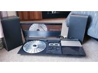 Vintage Bang & Olufsen B&o Beocenter 2200 Complete With Beovox X25 Speakers
