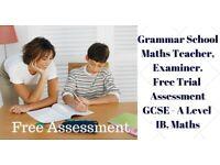 GRAMMAR School Teacher Maths Tutor Bristol Science English 11+ 13+ GCSE A Level Cardiff Wales