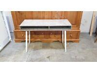Concrete Style Office Desk - Grey No260311