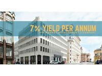 20% BMV Liverpool City Center 1 and 2 bedroom Apartments. 7% up to 200% ROI over 5 years. 75% Sold