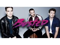 2 x BUSTED tickets NEWPORT CENTRE