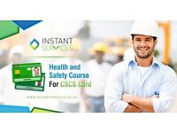 CSCS Green Card Course £120 | Health and Safety Training | Glasgow Edinburgh Dundee Aberdeen