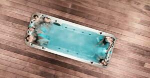 Swim Spa - Single zone 19 footer - 5000$ Off - No risk , 60 days money back Guarantee spa pool