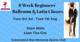 6 Wk Beginners Waltz & Cha Cha Dance Classes - Greenisland - Tuesdays from 3rd July 2018