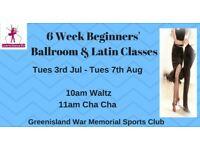 6 Wk Beginners Waltz & Cha Cha Dance Classes - Greenisland - Tuesdays from 3rd July 2018