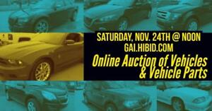Online Vehicle & Vehicle Parts Auction