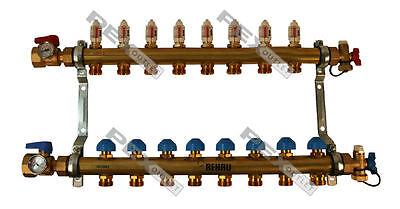 Rehau Pro-balance Radiant Floor Heat Manifold Pex Pipe - 8 Circuit