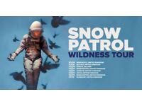 Snow Patrol 2 tickets BK 107 seated O2 London 26/7 for sale