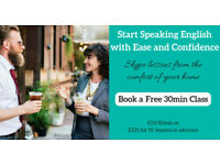 English Classes via Skype-Book Your Free Trial Class