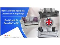 Want a brand new sofa? Choose from our massive range of Sofas, all brand new and top quality.