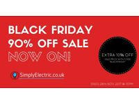 Black Friday wholesale electrical fittings discount code
