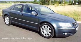 12 MONTHS WARRANTY! 2004 VW Phaeton 3.2 V6 automatic, history, 12 mths mot, BEAUTIFUL BIG LUXURY CAR