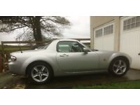 MAZDA MX5 ROADSTER COUPE Mk 3 2007 Pushbutton retractable roof, 1.8 litre,