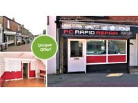 Unique Offer | SHOP OR OFFICE | Ready to move into | RECENTLY REFURB | High Street, Felling | C724