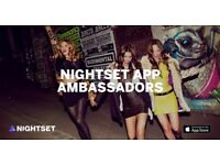 Nightset app nightlife promoter for the best & most exclusive clubs in London - up to £200 a night!
