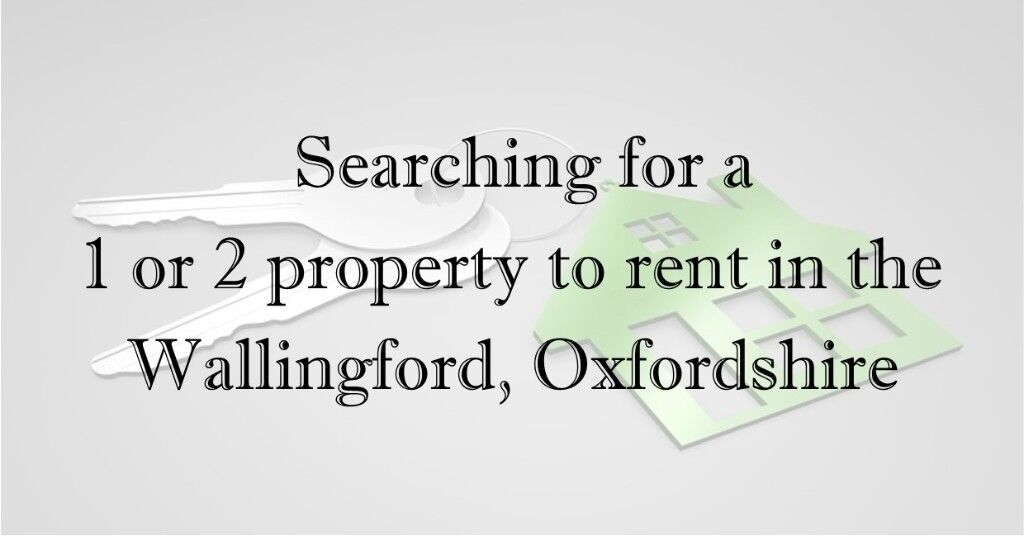 1/2 bed house or flat required for two local professionals