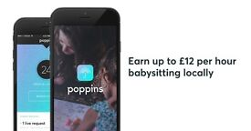 Babysitters Needed! Earn up to £13ph working when and where you want - with Poppins App