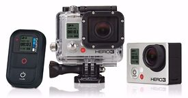 GoPro Hero 3 Black Rental from £10 a day.
