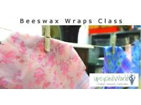 Learn how to make BEESWAX WRAPS, alternative to cling film Sat 16th June 2.30-4pm