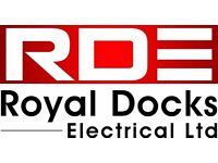 Royal Docks Electrical Ltd Emergency electricians and contractors in Canary Wharf and Royal Docks