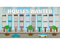 Houses wanted. Houses, bungalows, terraces and more in and around DERBY. We buy houses!