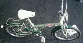Vintage piper trusty childs viscount bicycle
