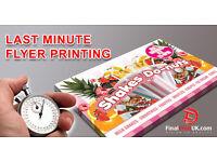 Flyer Printing - Leaflet Printing