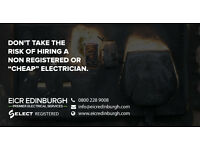 EICR Edinburgh Electrical Services | Fuse Board Upgrades, Rewires, RCD Protection, Select Registered