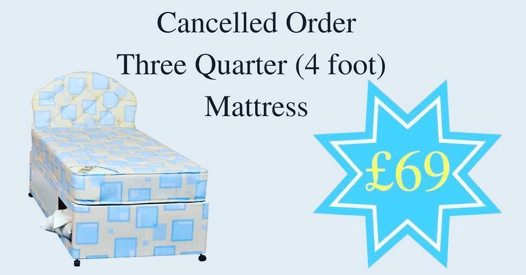 4 foot spring mattress