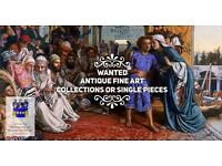 Wanted antique oil paintings
