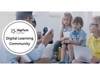 FREE Digital Learning & Teaching Online Support Community for Teachers & Educational Practitioners.