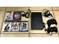 PlayStation 2 games console & games