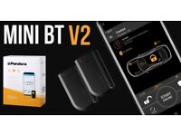 Pandora Car Van Alarm Security with Shock Tilt Motion sensor Bluetooth & Mobile Phone App