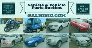 Online Vehicle & Vehicle Part Auction