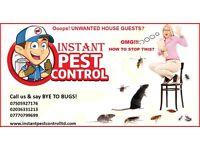 100% Guaranteed Pest Control (Mice, Rat, Cockroach, Bedbugs, Wasps, Spiders, Ants, Fleas, Moth, etc)