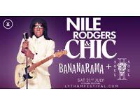Lytham Festival Sat 21st July 2 x tickets