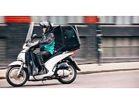 Scooter Couriers Wanted - Deliveroo Norwich
