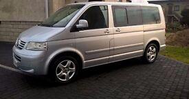 LEFT HAND DRIVE VW T5 MULTIVAN COMFORTLINE 2.5 TDI 174BHP (CARAVELLE TRANSPORTER CAMPER) LHD