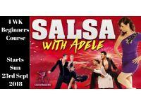 4 Wk Beginners Salsa Dance Classes in Larne from Sunday 23rd Sept 2018 - 9pm to 10.30pm