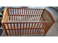 baby cot to toddler bed no mattress
