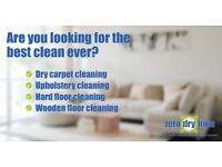 long-lasting DRY carpet cleaning, cleaning for hard floors, wooden floors and upholstery